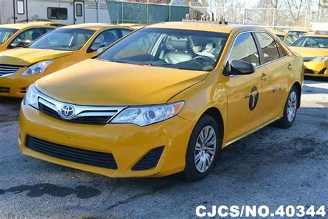 yellow toyota camry 2013 left hand toyota camry yellow for sale stock no