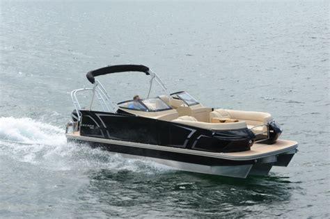 are larson pontoon boats good larson escape 25 ttt triple dc pontoon deck boat magazine