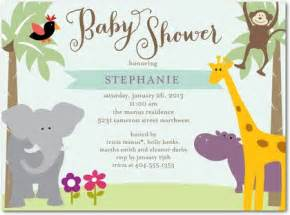 sunny safari baby shower invitations in aloe simplyput