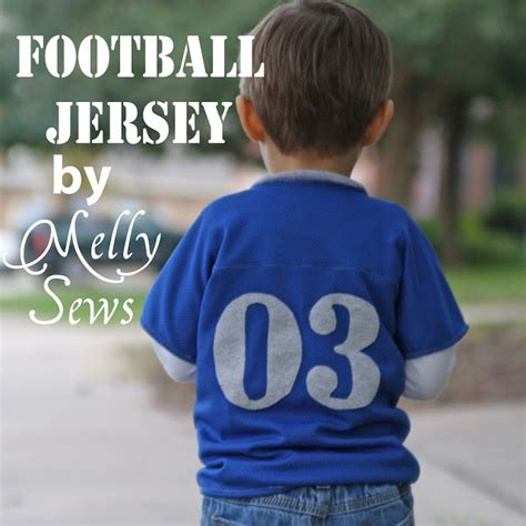 football jersey pattern sewing game day tutorial round up melly sews