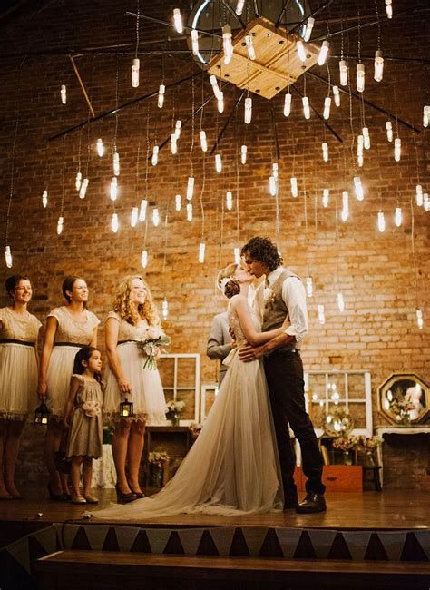 wedding lights mariage industriel la grande tendance de 2016 save