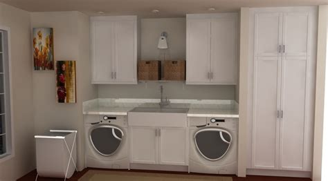 All White Kitchen Designs by Ikea Laundry Rooms Traditional Laundry Room Other