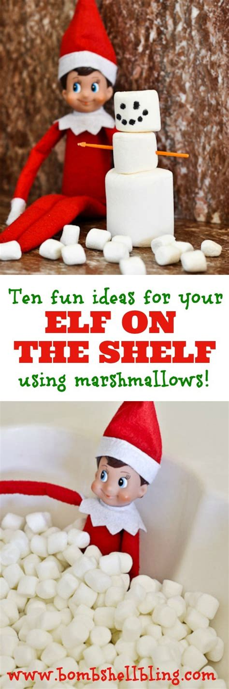 Simple On The Shelf Ideas by On The Shelf Ideas Using Marshmallows