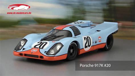 Porsche 917 Video by Ck Modelcars Video Porsche 917k 24h Lemans 1970 Norev