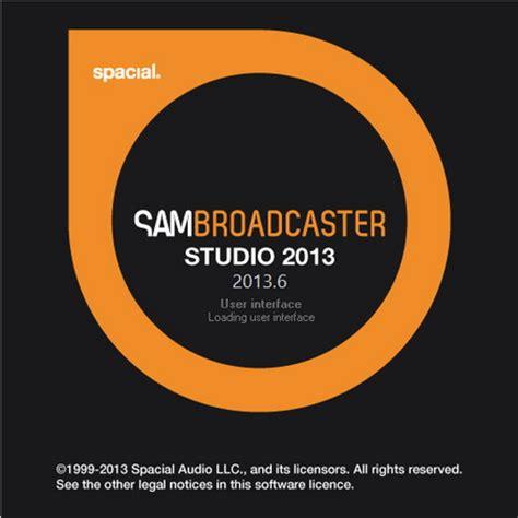 Sam Broadcaster Studio V498 spacial audio sam broadcaster studio 2013 6 noname