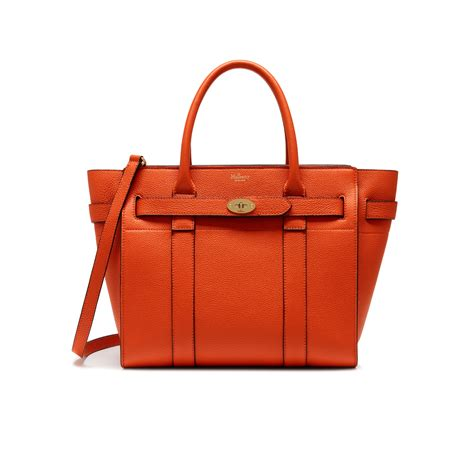 Artist Julie Verhoeven For Designer Mulberry Shopper Tote by Mulberry Small Zipped Bayswater In Orange Lyst