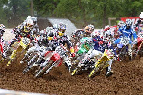 how to start racing motocross bud 450 moto 1 start lucas ama pro motocross