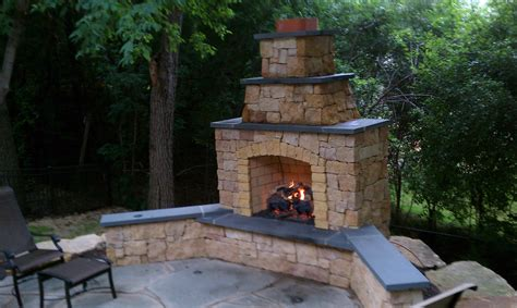 pavilion outdoor fireplace chimney cast iron pit