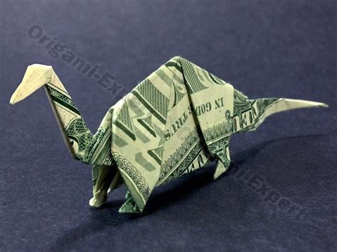Tree Frog Money Origami Dollar Bill Vincent The Artist - apatosaurus dinosaur money origami by vincent the artist