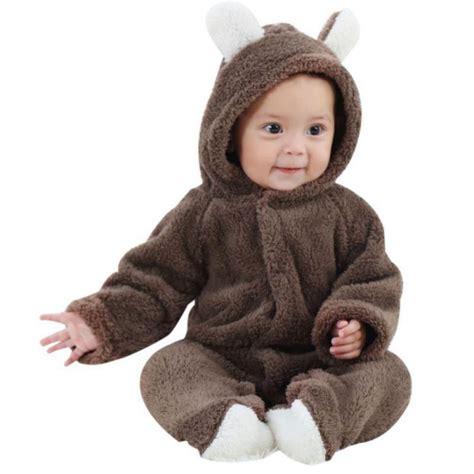 Baby Boy Infant Romper Jumpsuit Bodysuit Clothes newborn baby boy romper hooded jumpsuit bodysuit clothes 0 12m ebay