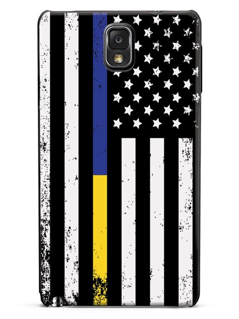 downward american flag thin blue  thin gold  case inspiredcases