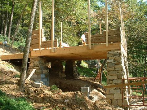 Foundation For Log Cabin by Adventure Journal Loom House Restored Cabin Blowing