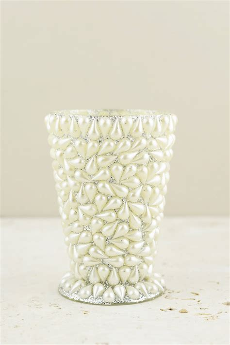 mint julep vase pearl covered mint julep vase 4 5 quot