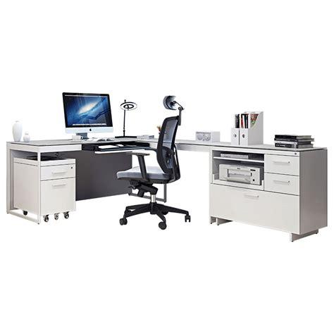 Bdi Centro Executive L Desk Modern Office Set Eurway Modern Desk Sets