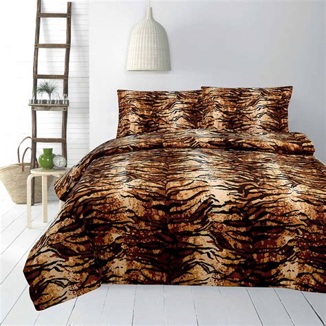 Tiger Quilt Cover by Tiger Quilt Cover Set Family Quilt Covers The