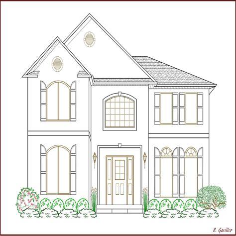 imagenes para pintar interiores de casas imagenes de casas para colorear e imprimir blog de
