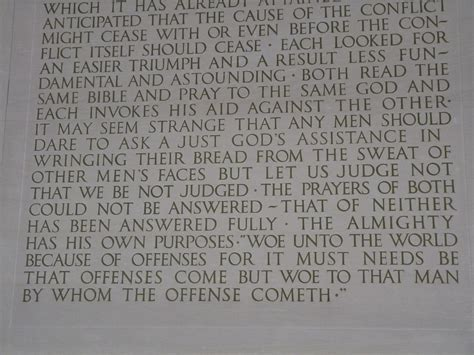 lincoln memorial words written history quotes like success