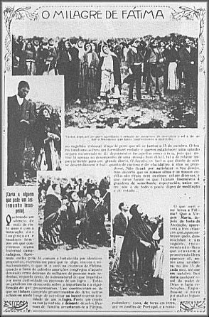 The Miracle Of Fatima The Miracle Of The Sun 1917