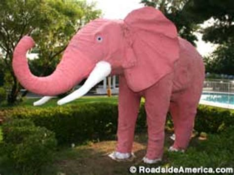 Big Pink Elephant In The Room by Pink Elephant Las Vegas Nevada