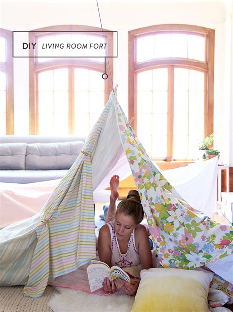 Living Room Fort How To Build A Living Room Fort Say Yes