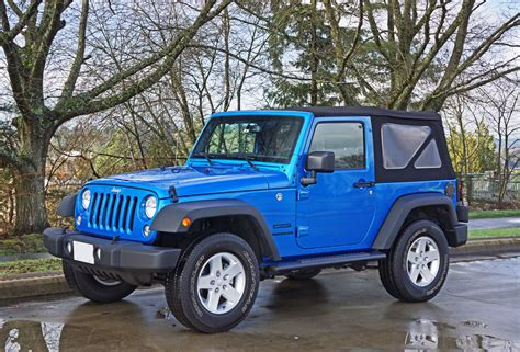 Jeep Wrangler 2016 Review 2016 Jeep Wrangler Sport S Road Test Review The Car Magazine