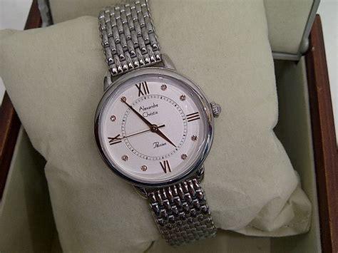 Alexandre Christie Ac8427lp 100 Original Stainless Steel Wanita jual jam tangan wanita alexandre christie ac 2689 white stainless steel baru jam alexandre