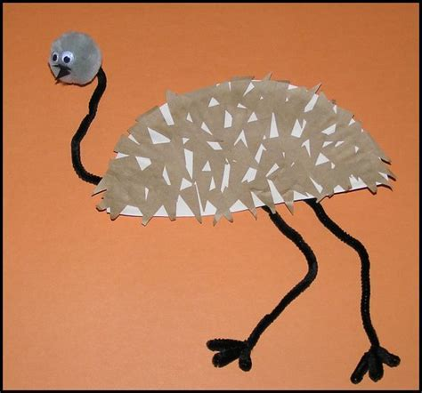Make An Emu Craft And Learn About Australia Australia