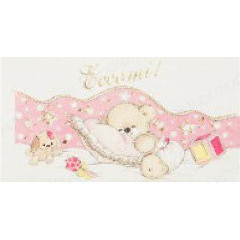 cuscini nascita bigliettini nascita cuscino orsetto rosa