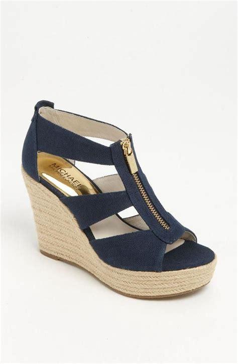 nautical wedge sandals damita wedge sandal gold wedges nautical style and