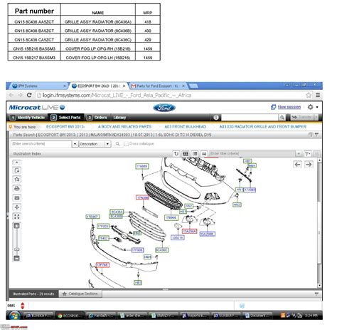 Spare Part Ecosport ford ecosport official review page 623 team bhp