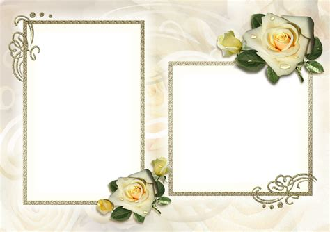 Photo Frame With Two Pictures