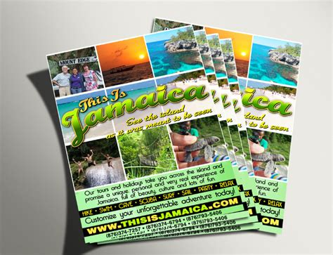 flyer design jamaica print publication advertisements er designs