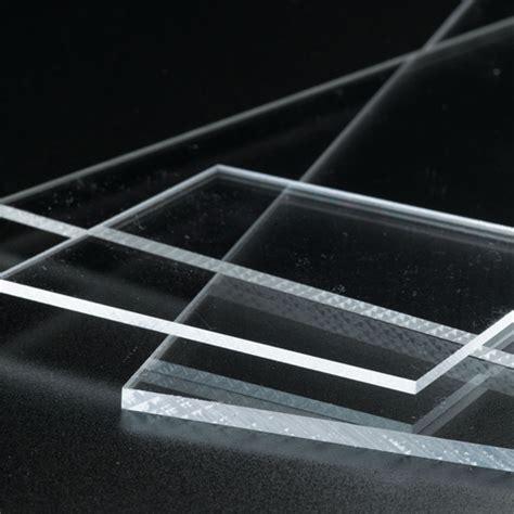 Acrylic Bening 2mm cut 2 size plastic sheets