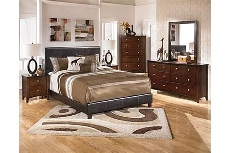 the rayville upholstered bedroom set from furniture