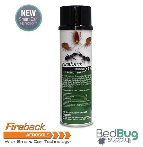 residual bed bug spray fireback bed bug and insect spray