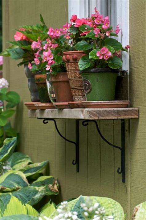 wooden diy window flower boxes