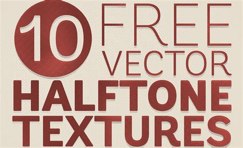 Light Overlay 10 Free Detailed Vector Halftone Texture Backgrounds