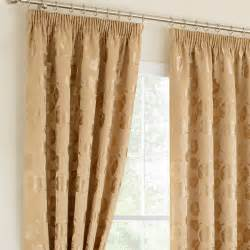 Pencil Pleat Curtains Linby Gold Ready Mades Pencil Pleat Curtains Pencil Pleat Curtains Curtains Linen4less Co Uk