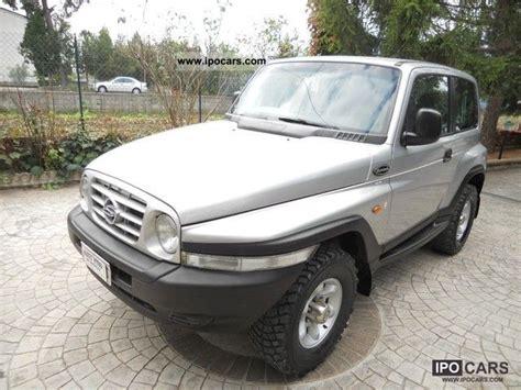 ssangyong korando 1999 1999 ssangyong korando 4x4 diesel eco gancio traino car