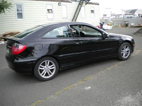 sell used 2002 mercedes c230 kompressor coupe 2 door