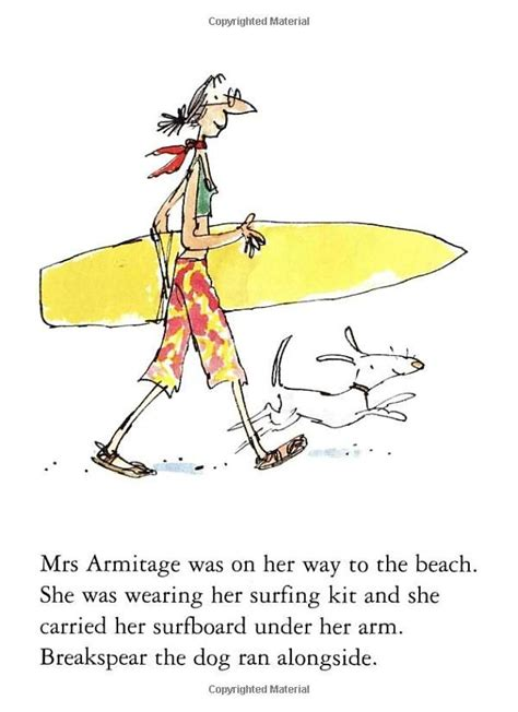 mrs armitage and the 1000 images about quentin blake on roald dahl characters esio trot and illustrators