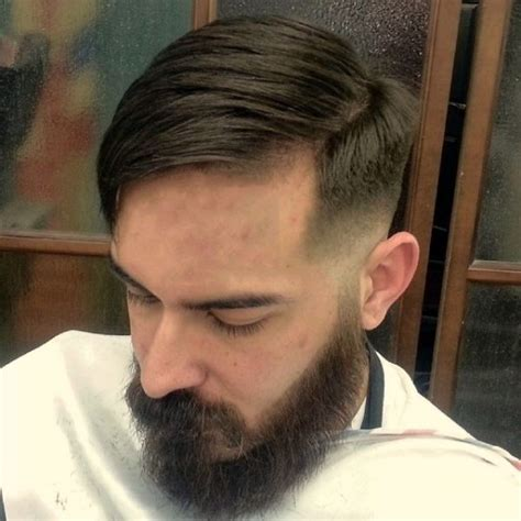 haircut barbeshop videos nice side part with no pomade classic parted and