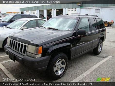 1996 Jeep Laredo Black 1996 Jeep Grand Laredo 4x4 Agate