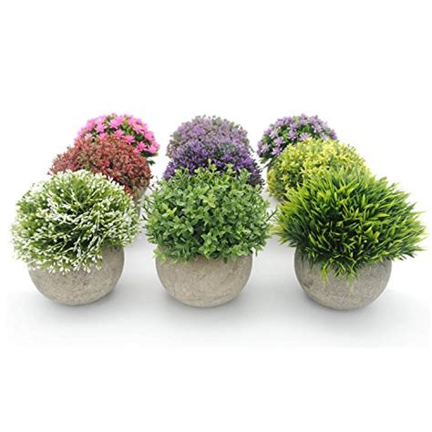 artificial plants home decor velener mini plastic artificial plants benn grass in pot