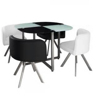 table 224 manger bicolor 4 chaises encastrables krys www