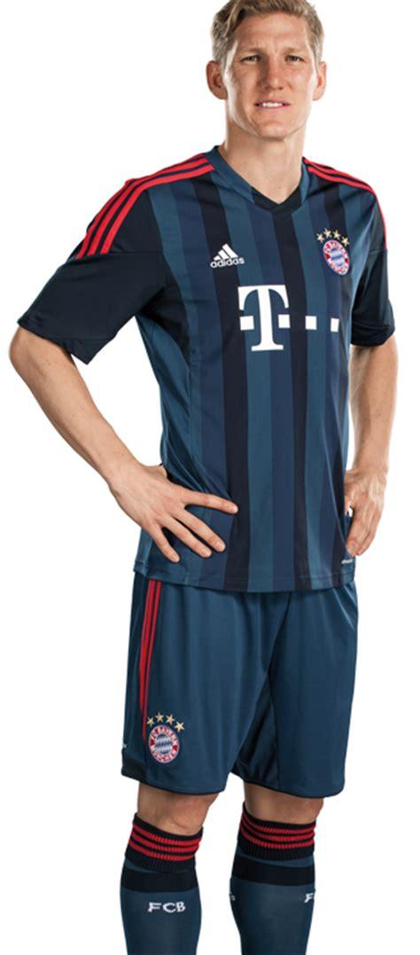 Jersey Bayern Munchen 3rd Kits Adidas Original new bayern munich third kit 2013 14 fc bayern adidas chions league jersey 2013 2014