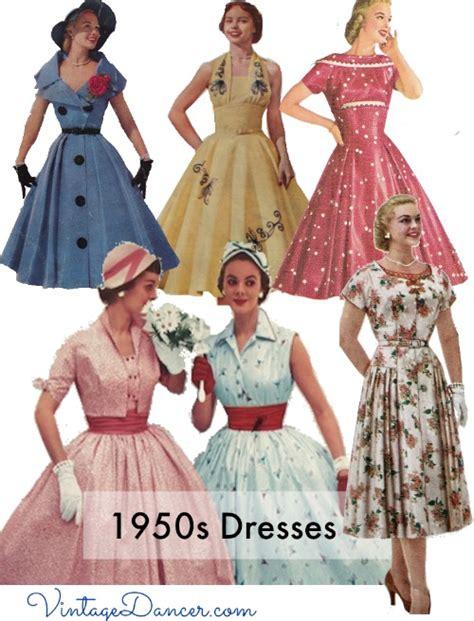 Dress I Style vintage 50s dresses 8 classic retro styles