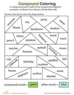 christmas compound words worksheet compound words worksheets and activities mega pack