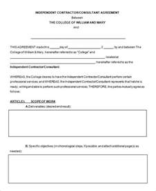 consultant contract template free 8 consultant contract templates free word pdf documents