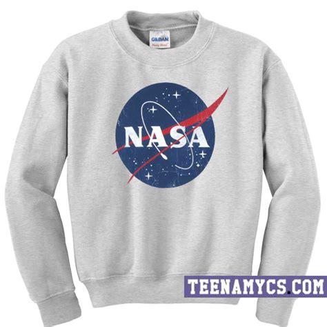 Hoodie Nasa Logo Black nasa logo sweatshirt teenamycs
